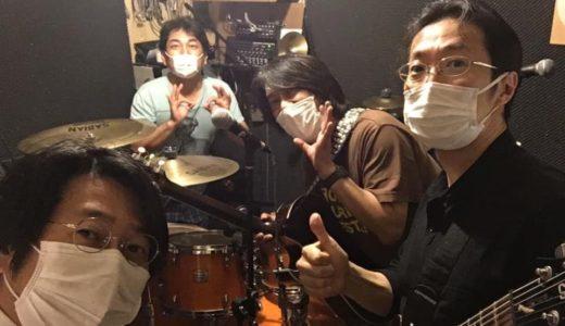 ようやくバンド練習再開~~~